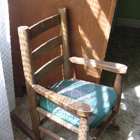 Itchy Chair Motivation
