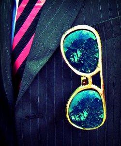 SuitAndGlasses